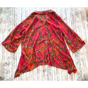 Zac & Rachel Tops - Zac & Rachel women's print blouse